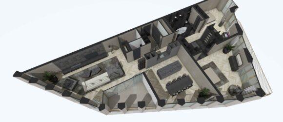 Merckt Groningen Grote Markt Interieur Ontwerp Luxe Appartementen DUIN INTERIOR