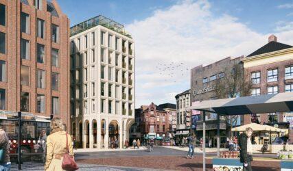 Merckt Groningen, Grote Markt, Architect Powerhouse Company