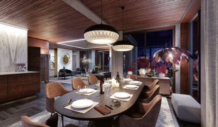 Mercado Groningen interieur impressie luxe penthouse