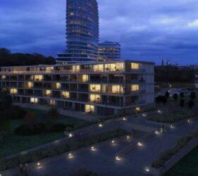 Penthouse Kempkensberg Avondbeeld